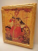 Saint Catherine of Alexandria Icone Ikona Byzantine Greek Orthodox Icon Art
