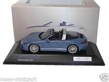 Porsche 911 Targa 4S Ltd. Exclusive Design Edition blau Spark 1:43 WAX02020028