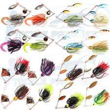 1/2oz Spinnerbaits Buzzbaits Spinners Bait Lures Soft Plastics Grubs Cod Bass