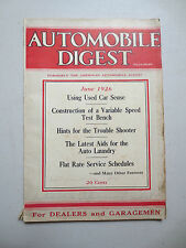 Vintage 1926 Automobile Digest - Dodge chassis service & Rajo articles etc