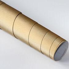 16,03€/m² DIN A4 Selbstklebend Möbel DEKO Folie Alu Gebürstet Gold