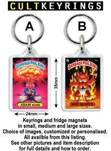 Garbage Pail Kids keyring / fridge magnet - Choose any Kids