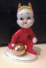1950s L'amore china Spaghetti Hair  devil figurine Made in Japan hand painted