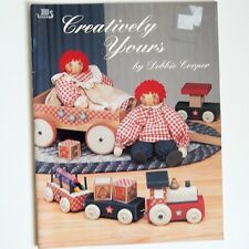 Creatively Yours Tole Painting Book Cooper Raggedy Ann Beatrice Bear Santa Cats