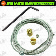 """60"""" THROTTLE REPAIR CABLE KIT HARLEY THROTTLE CABLE WIRE"""