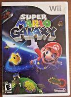 Super Mario Galaxy (Nintendo Wii, 2007) GUARANTEED - Free Shipping