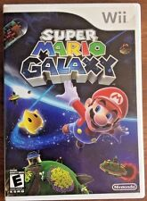 Super Mario Galaxy (Nintendo Wii, 2007) GUARANTEED - Free Shipping