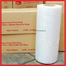 1X 500mm Clear Machine Stretch Film Pallet Wrap FREE SYD METRO DEL