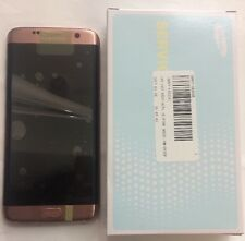 Genuine Samsung Galaxy S7 Edge G935 F Pink LCD Screen Digitizer Original