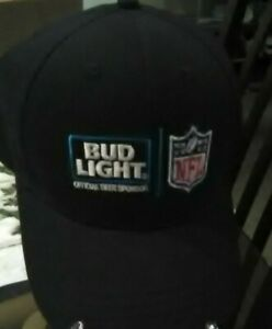 NEW NFL BUDLIGHT OFFICAL BEER SPONSOR ONE SIZE FITS ALL HAT