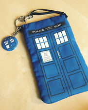 TARDIS Doctor Dr Who Mini Purse Wallet Purselet Electronics Nintendo DS 3DS Case
