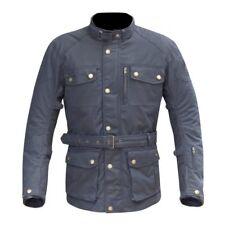 Merlin Atlow Wax Waterproof Jacket Blue XL