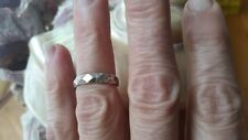 Handmade Vintage sterling silver 1960s new stock ring