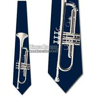 concert Jazz Trumpet theme men/'s neck tie #1 music orchestra horn Band