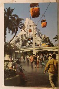 Disneyland Matterhorn Mountain Postcard Old Vintage Card View Standard Souvenir