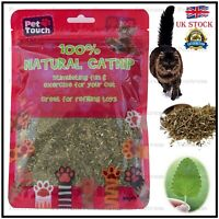 Pet Touch Catnip Natural Crazy Catnip 30g Great fun & relaxation for Cats