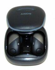 Sony Wireless Noise Canceling Sports In-ear Headphone Wf-Sp700N Black Used