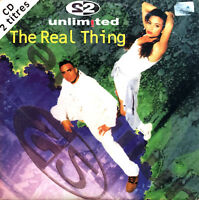2 Unlimited ‎CD Single The Real Thing - France (VG+/VG+)