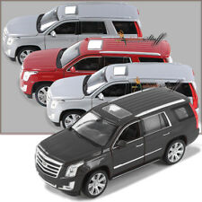 FOUR Welly 2017 Cadillac Escalade SUV 1:24 Scale Diecast RED-SILVER-BLACK-WHITE