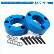 """2pcs 2004-2019 For Ford F-150 2.5"""" Front Leveling Lift Kit 2 1/2"""" 2WD & 4WD Blue"""
