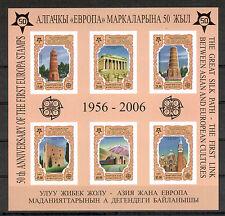 Kirgistan Michelnr Block 44 B postfrisch (intern: 50 Jahre Cept:57)
