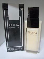 VINTAGE Sung Homme By Alfred Sung AFTERSHAVE BALM 3.4 Fl oz Men See Descr.