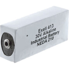 Exell Battery 413A 30V Alkaline Battery (180 mAh) - Replaces 20F20, BLR123 ER413