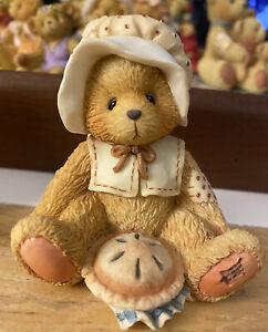 """Nicole"" - November from the Cherished Teddies Monthly Bear Collection"