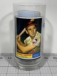 1993 McDonalds Topps Glass Brooks Robinson Coca Cola MLB All Time Greatest Team