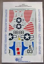 1/48 SuperScale Decals 48-657 P-47D THUNDERBOLTS 397 FS/386 FG/527FS/86 FG mint