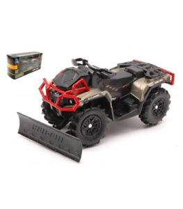 OUTLANDER XMR 1000R CAN-AM WITH SNOW PLOW 1:20