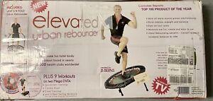 Urban Rebounder Trampoline with Workout DVD & Stabilizing Bar 1245868 Workout