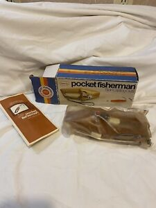 NEW Vintage Popeil's Pocket Fisherman Spin Casting Outfit with Original Box 1972