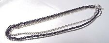 "David Yurman Sterling Silver Multi Chains 24"" Necklace"