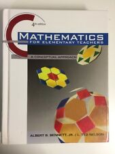 Mathematics for Elementary Teachers 4th Ed ALBERT BENNETT- A Conceptual Approach