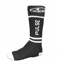 PULSE MOTORCYCLE MOTORBIKE MOTOCROSS MX SOCKS - POLYESTER KNEE HIGH SOCKS