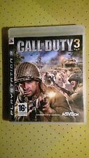 Juego Sony PlayStation 3 PS3 Call Of Duty 3 ACTIVISION