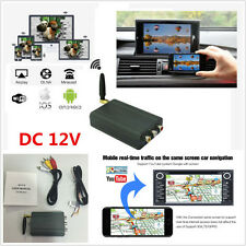 Home Car Miracast Airplay Android IOS WiFi Mirror Link Adapter Smartphone Screen