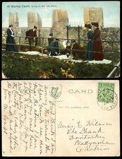 IRELAND 1912 ST ANNS HILL VILLAGE POSTMARK on PPC BLARNEY