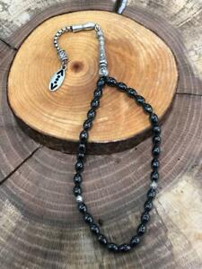 Cukur Lizenzartikel Çukur Tesbih Gebetskette Perlenkette Glasperlen Silber
