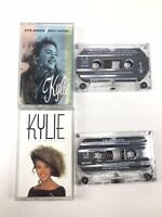 Kylie Minogue Cassette Tale Lot Of 2 Enjoy Yourself Rare Variant & Kylie