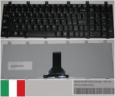 Clavier Qwerty Italien Toshiba M65 M60 P100 P105 MP-03233GB-698 PK13ZKK0C00 Noir