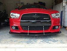 2011 2012 2013 2014 Dodge Charger SRT8 Front Bumper Carbon Fiber Splitter