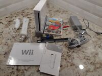 Nintendo Wii White Console RVL-001 System Bundle GameCube Compatible Controller