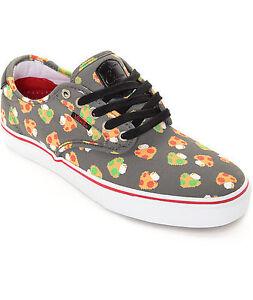 VANS x NINTENDO CHIMA FERGUSON PRO MUSHROOMS GREY/WHITE Shoes BRAND NEW in BOX!!