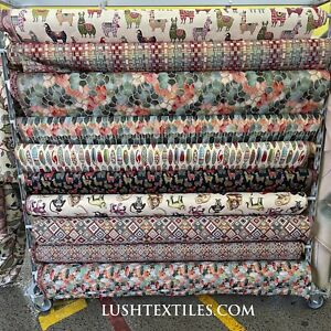 LUXURY Tapestry Furnishing Fabric Upholstery Curtains Cushions Throws Sew Bags
