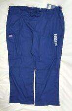 Cherokee Women's Navy Blue Workwear Scrubs Cargo Pants, Plus Size 3Xl