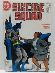 Suicide Squad #10 VF- DC COMICS 1988 - Batman Appearance! FAST SHIPPING