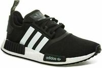 ✅Mens Adidas NMD R1 BOOST Gym ✅Running Trainers Black/White ✅Neoprene D97859 NEW