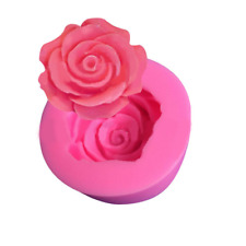 Rose Flower Mould 3D Silicone Cake Decor Icing Sugar Paste Chocolate UK SELLER A